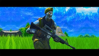 The Cyborg Super Soldier Challenge in Fortnite