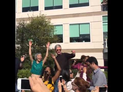 Tim Cook Dancing to Pharrell