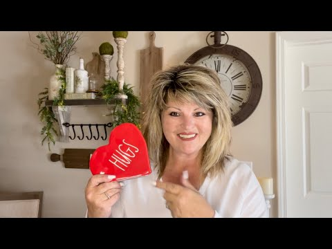 VALENTINES DAY DECORATING | VALENTINES DAY TABLESCAPE | DECORATE WITH ME FOR VALENTINES DAY AT HOME