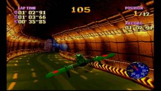 Bravo air race psx - Full playthrough (test)