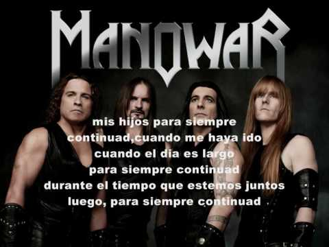 manowar - carry on (traducida al español)