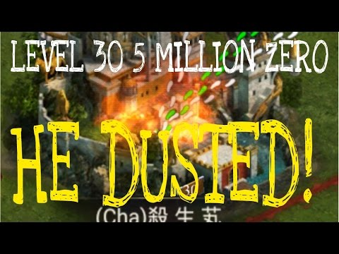 CLASH OF KINGS Chinese 5 MILLION 30 EASY ZERO