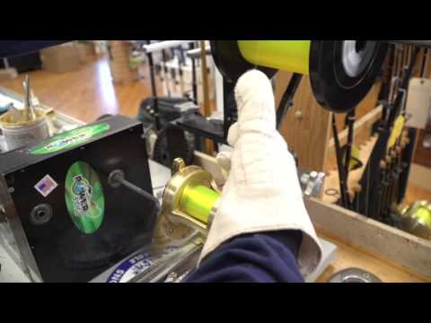 Respool a fishing reel with Jim McGrath from Grand Slam