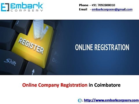 Online Company Registration in Coimbatore