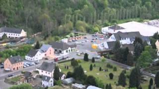 Gerolstein Eifel Blick von der Munterley 2011