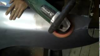 Уроки полировки кузова в гараже