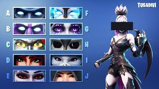 ADIVINALA THE SKIN OF FORTNITE BY YOUR EYES tusadivi