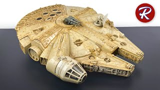 1978 Millennium Falcon Restoration - Water Damage Restoration