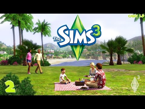 The Sims 3 #2 Поедание хот-догов   Cary LP