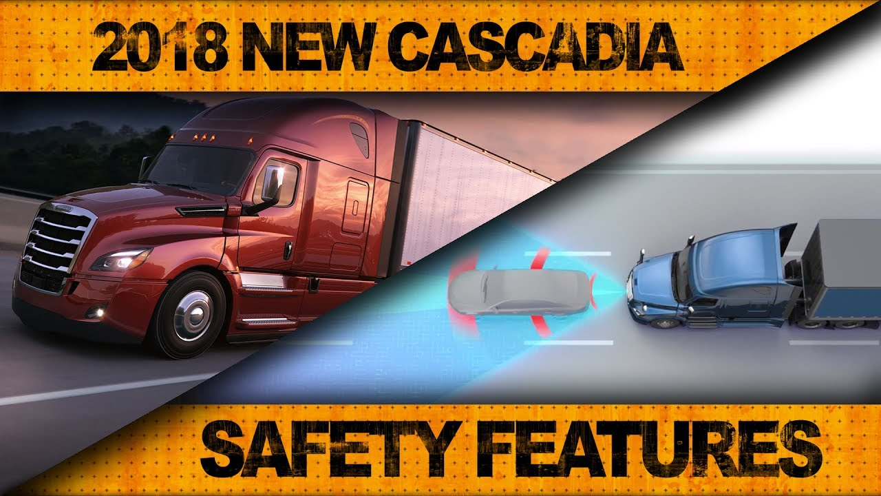 2018 New Cascadia | Road Test #2: Safety Features