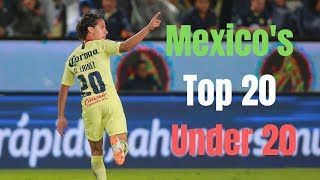 Mexican National Team: Top 20 Under 20 (20-11)