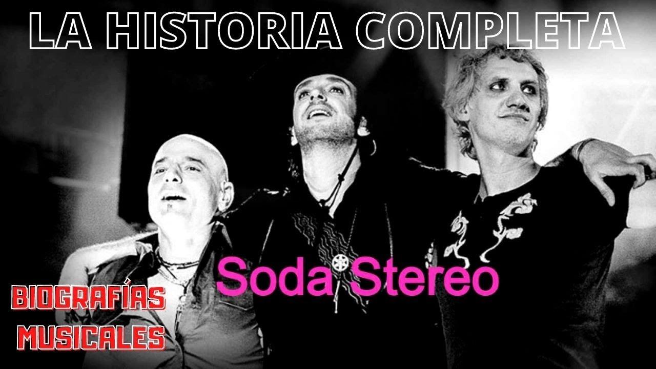 SODA STEREO biografía completa