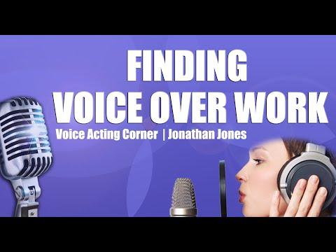 Voice Acting Corner | Finding Voice Over Jobs & Work