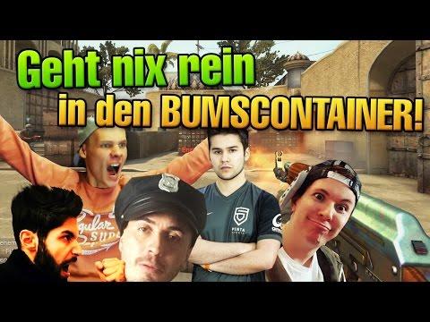 CS:GO - Geht nix rein in den Bumscontainer! Hauptsache Full Global :^)