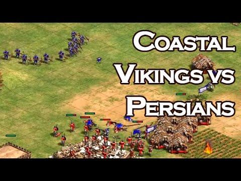 Coastal   Vikings Vs Persians   Vs LaaaN