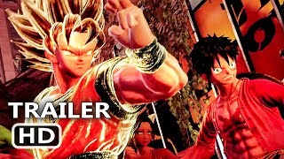 PS4 - Jump Force: Story & Avatar Trailer (2019)