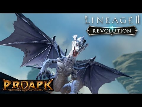 Lineage2 Revolution English iOS Gameplay (Open World MMORPG)