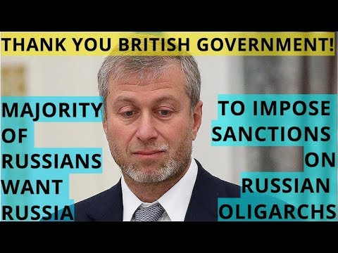 FUNNY: Russians Support UK Sanctions Against Russian Oligarchs - Abramovich Can't Get a Visa Anymore