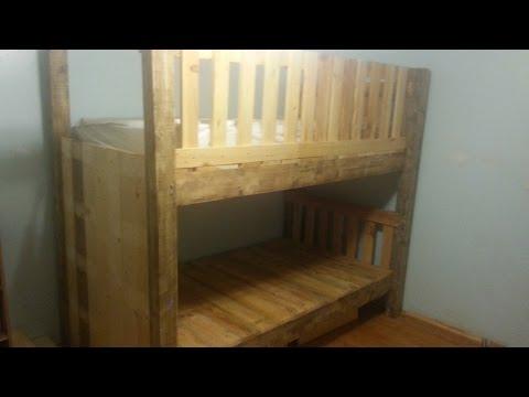 diy-pallet-bunk-bed