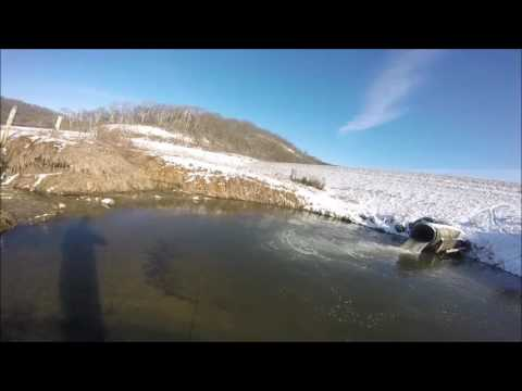 February Driftless Area Trout Fishing