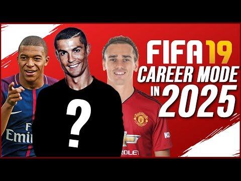 FIFA 19 CAREER MODE IN 2025!!!   MID-TABLE MAN UNITED & MESSI REGEN!