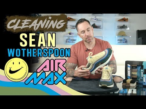 How to Clean Sean Wotherspoon Air Max 97/1
