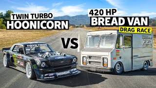 Our 400hp Merch Van Beat Ken Block's 1,400hp Hoonicorn!? // Hoonicorn Vs the World