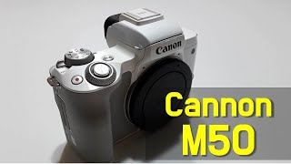 Cannon EOS M50 Unboxing and Lo…