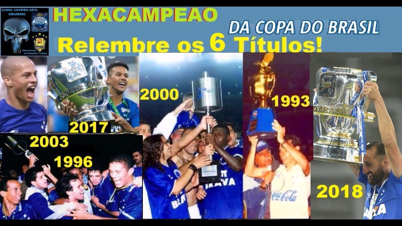 Copas Do Brasil Os 6 Títulos do Cruzeiro! Relembre! Cruzeiro HEXA ... 0e2bebc3f683d