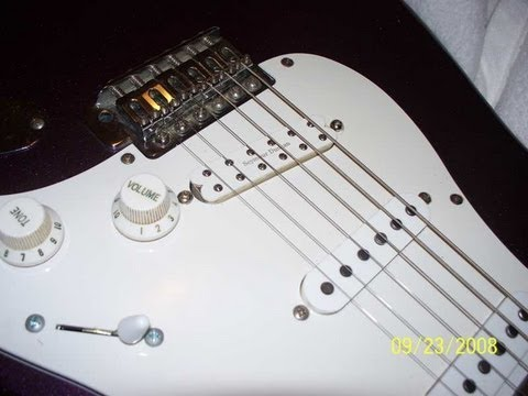 Upgrading a Fender Squier Strat humbucker installation with a
