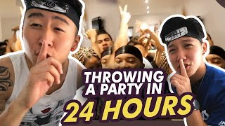 ASIAN GUYS throws lit party for STRANGERS IN EUROPE