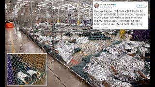 Trump tweets images of migrant kids in Obama-era holding centers - 247 news