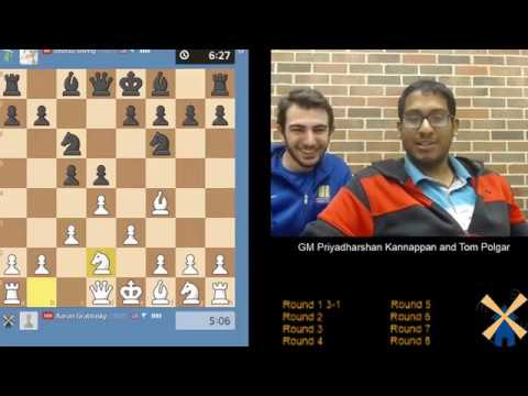 PRO Chess League Super Saturday 2018! Webster Windmills commentary 2/3