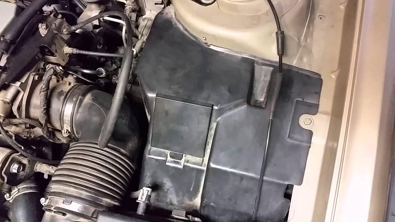 1996 Cadillac Deville Maxi Fuse Box Location  YouTube