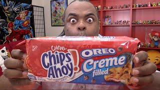 OREO CREME FILLED Chewy Chips Ahoy! TASTE TEST!