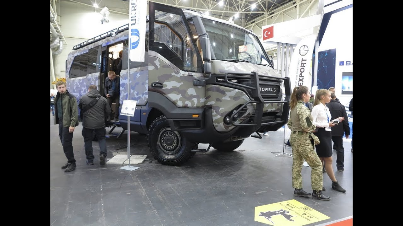 Автобус Torsus Praetorian CCTV на выставке «Оружие и безопасность 2019»