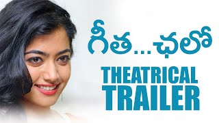 Geetha Chalo Theatrical Trailer | Rashmika Mandanna | Golden Star Ganesh