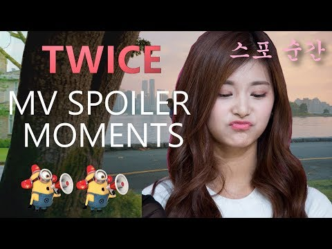 TWICE Spoiler Moments Before Each Time The MV Released