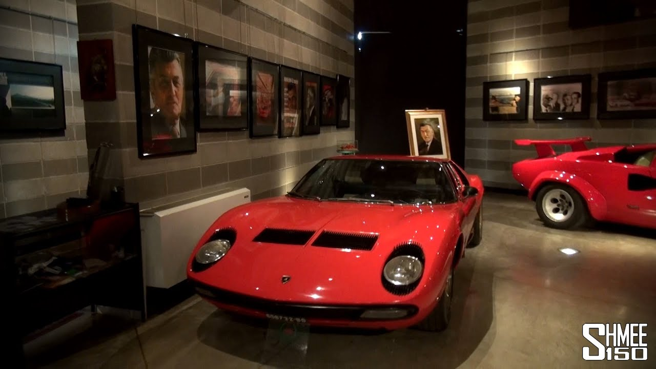 Free Car History Report >> Ferruccio Lamborghini Museum - A History of Lambo [Shmee's Adventures] - YouTube