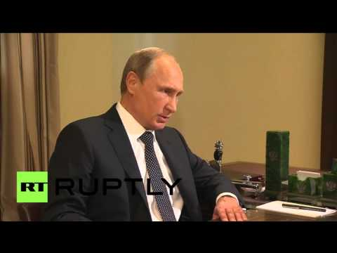 "Russia: Putin talks Navy's anti-IS airstrikes, Syria's ""healthy"" opposition with DM Shoigu"