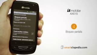 bmobile ax515 06 25 establecer pin bloquear telefono