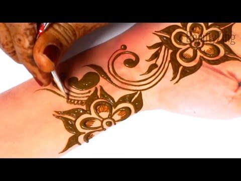 Easy Stylish Mehndi - Beautiful Mehndi Design for Hands 2019 - आने वाले तीज त्यौहार लगाए ये मेहँदी