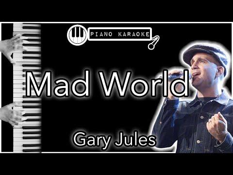 Mad World - Gary Jules - Piano Karaoke