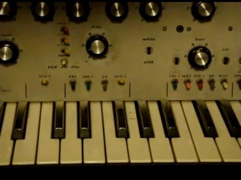 "Steiner Parker Synthacon with analog ""151 sequencer"""