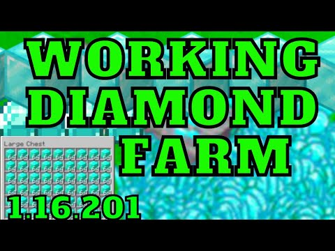 New Infinite Diamond Farm For Minecraft Bedrock Edition On MCPE, Ps4, Xbox, Switch, Windows 10
