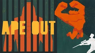 Super Strength Ape Escapes It's Cage & Seeks Vengance in Ape Out