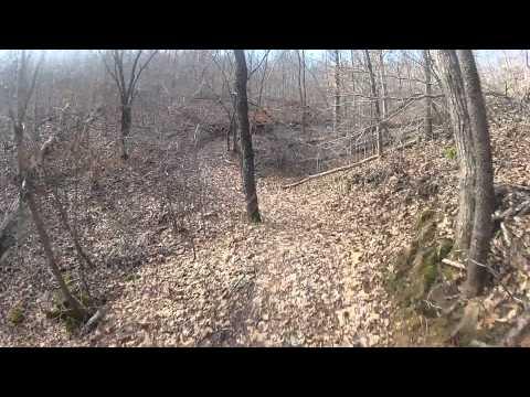 sutton bluff trail 1 on a gas gas 300 1-17-15