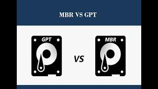 Phân biệt giữa GPT và MBR