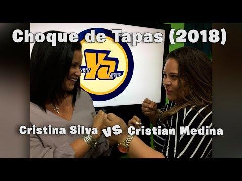 Choque de Tapas - Cristian Medina vs Cristina Silva (Completo) (La Nueva Radio YA)(10-02- 2018)