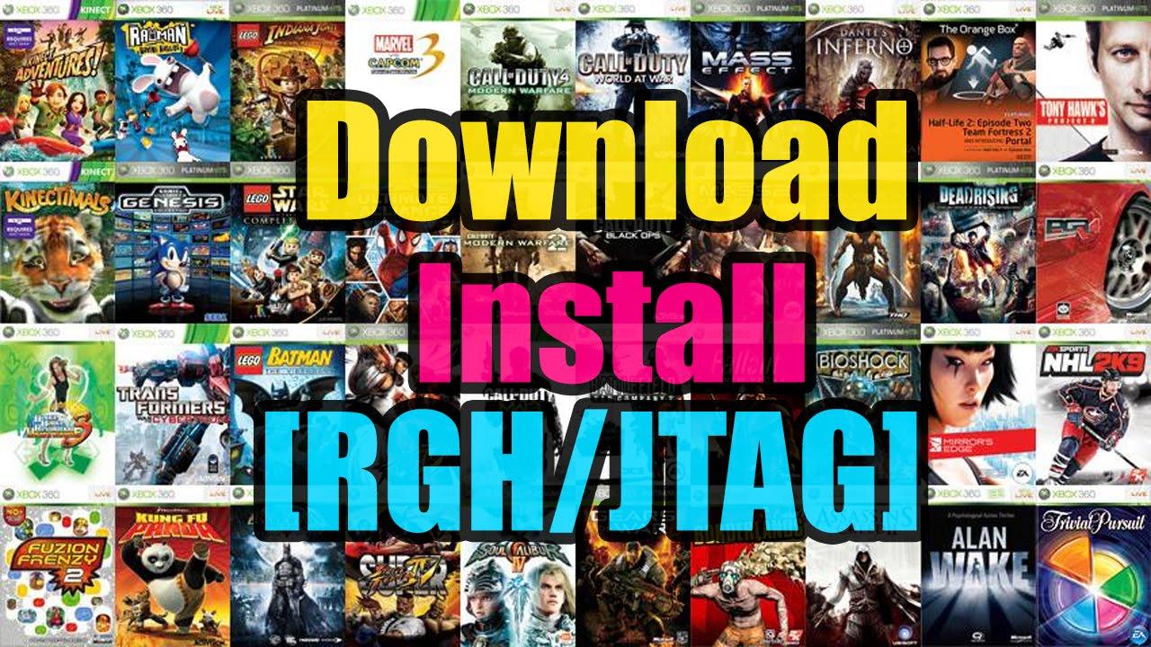 Jtag Tutorials   Downloading and Installing Games